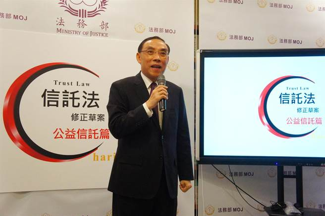 法務部長蔡清祥說,法務部所屬檢察機關及調查機關涉及石木欽案的調查對象約有 10人。(張孝義攝)