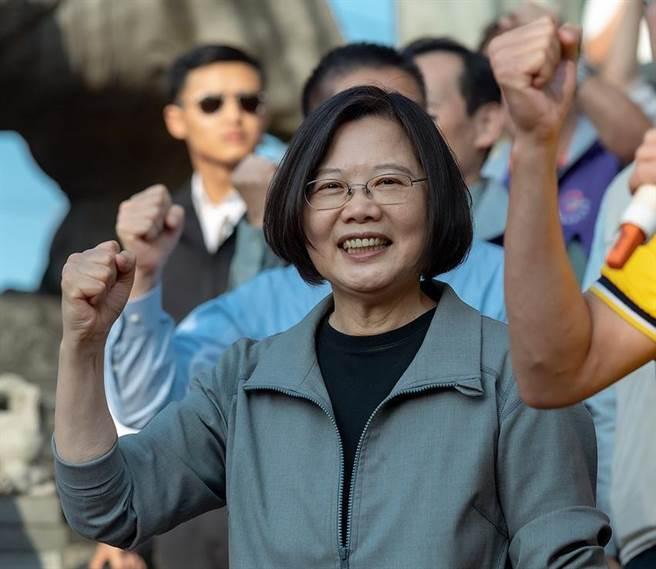 总统蔡英文表示,台湾经济未来三年会稳定发展。图/本报资料照