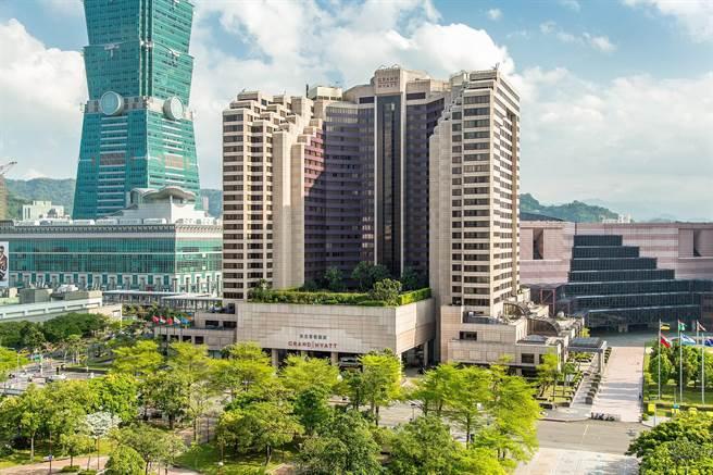 台北君悅酒店外觀。(君悅提供)