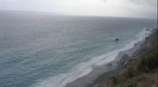 蘇花斷崖和仁海域,為戰機失聯海域。(王志偉翻攝)