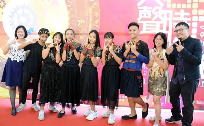 由潮州國中班底組成的排灣貝拉人聲樂團,今年在全國賽初試啼聲,便拿下銅牌的好成績。(林和生攝)