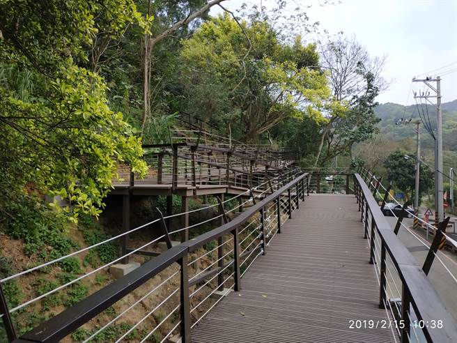 「虎頭山森友Party遊戲趣」22日中午將登場,步道來回漫遊約4公里。(蔡依珍攝)