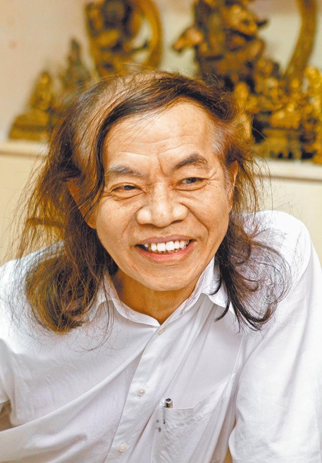 台灣漫畫家蔡志忠。(本報資料照片)