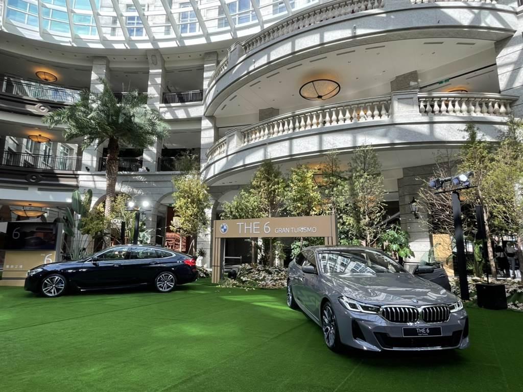總代理汎德在台北市Bellavita中心以秘境森林概念打造展車空間。