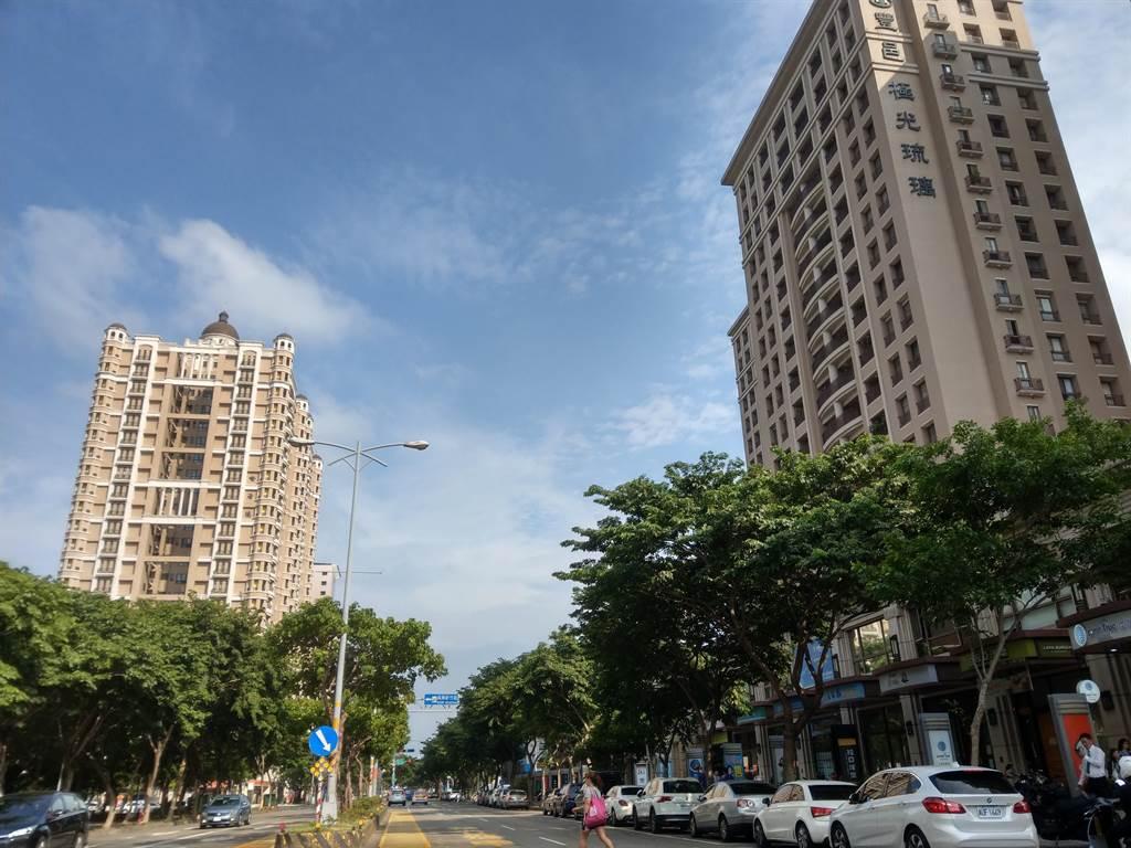 北台灣購屋總價帶上揚,首購族買新房恐退至蛋殼區。(葉思含攝)