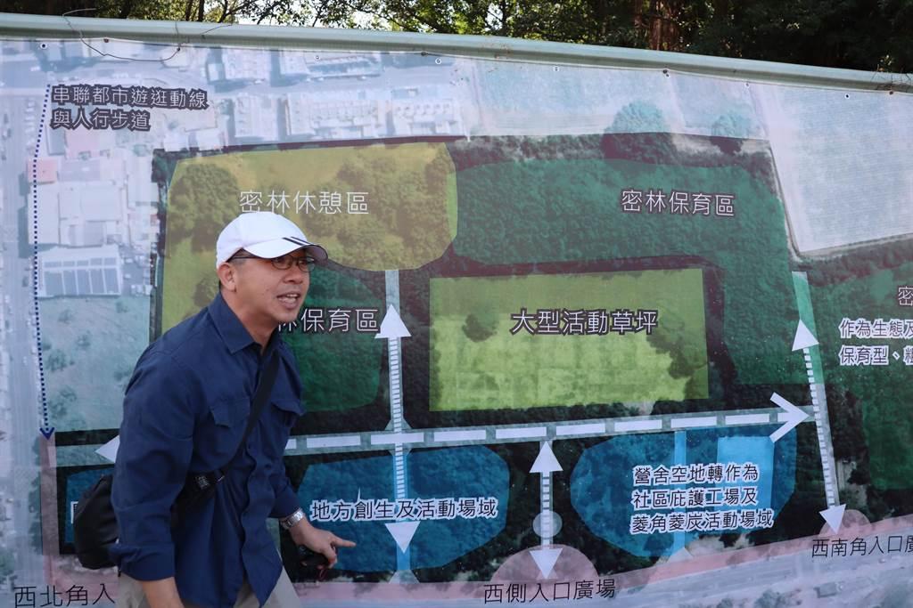 官田舊營區祕境變生態文化園區,拚農曆年前開放。(劉秀芬攝)