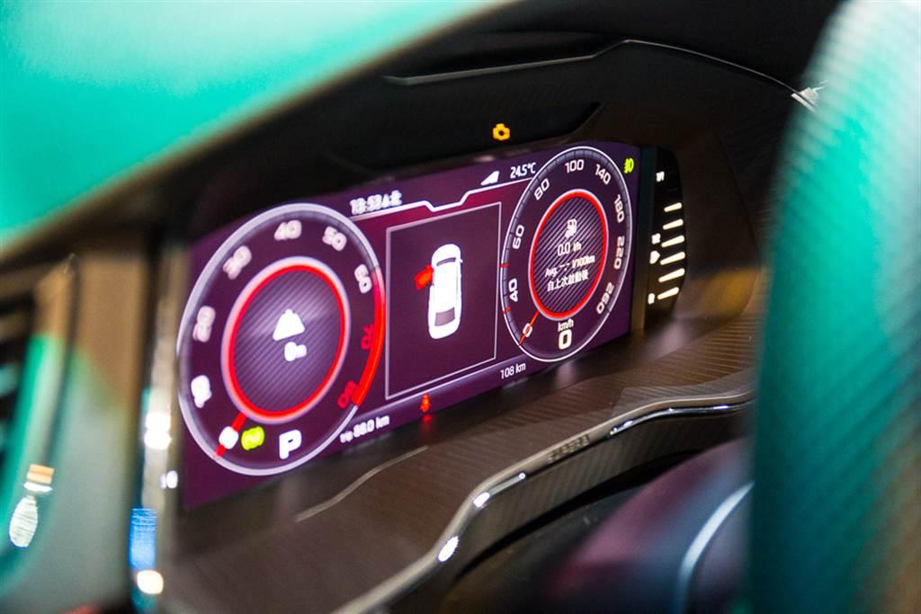 Superb提供數位儀錶可供選配,選配價格為NTD$3萬元。