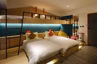 花蓮最新潮旅店「悅樂旅店」正式開幕 當月壽星平日免費入住青春背包客1晚