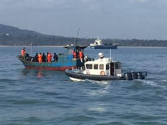 陸船越界捕撈「好魚」 金門海巡逮1船3人