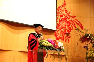 南藝大24周年校慶 黃光男獲頒名譽博士