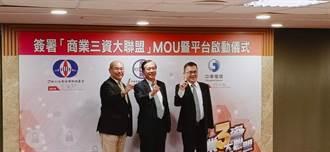 商總牽頭簽署「商業三資大聯盟」MOU