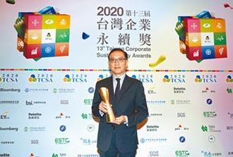 中信金首度入選十大永續典範企業