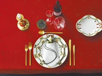 頂級餐瓷勾勒耶誕節慶風情