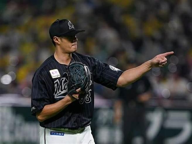 日職羅德隊投手陳偉殷結束今年賽季。(資料照,截自羅德官網)