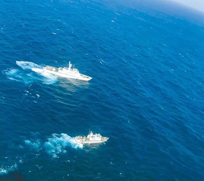 水下作業意外發生地點在澎湖七美台灣淺堆海域。(報系資料照)