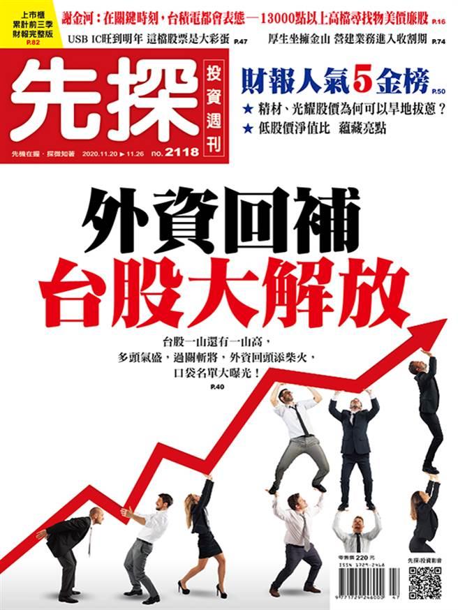 《先探投資週刊2118期》