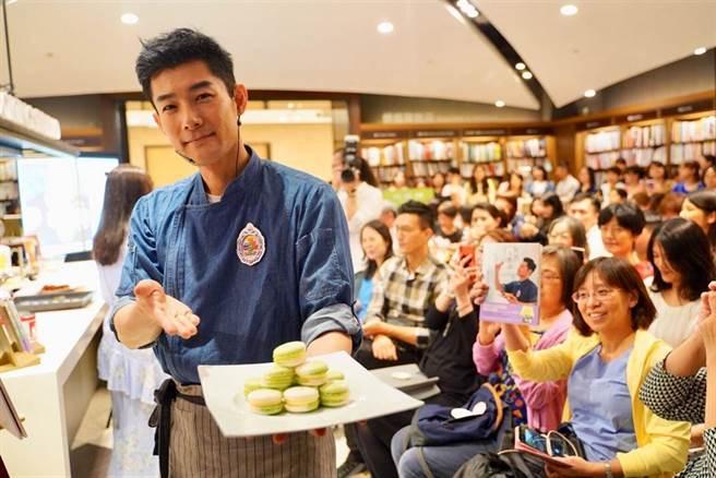 甜點王子施易男開店 鄰居告他「音波攻擊」重傷害 獲不起訴(遠流出版提供)