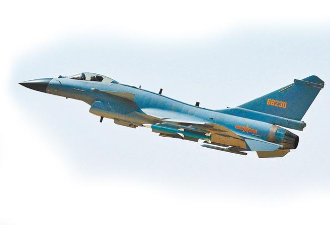 大陸解放軍殲-10C戰機。(新華社資料照片)