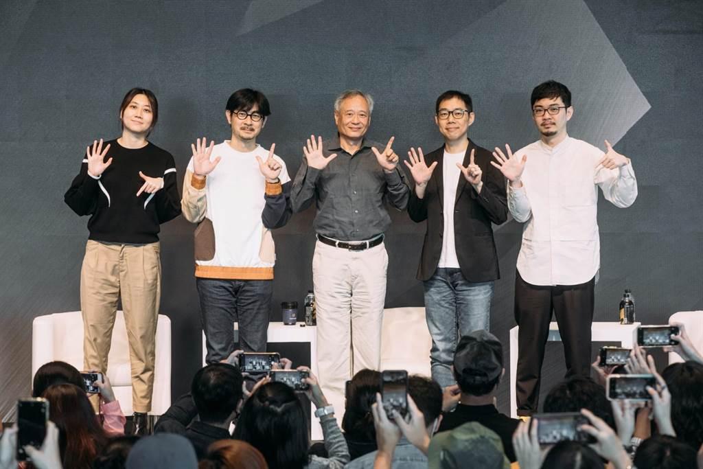 导演李安给新进导演们众多宝贵又实用的建议。(金马执委会提供)