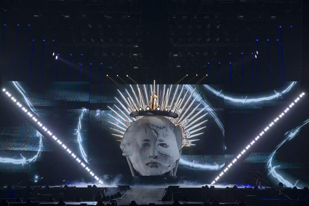 蔡依林今晚在高雄巨蛋开唱。(凌时差提供)
