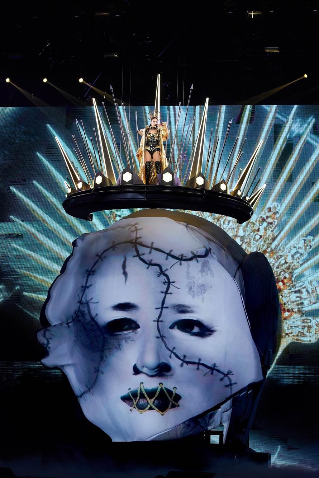 蔡依林今晚在高雄巨蛋開唱。(凌時差提供)