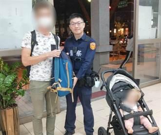 法國遊客遊彩虹眷村遺失媽媽包 中市暖警助尋回