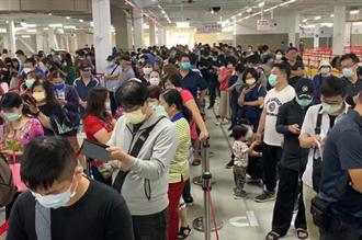 專輯》好市多台中新店開幕爆人潮 53萬凱莉包秒售