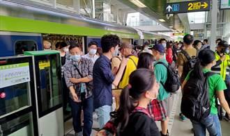 中捷試營運5天搭乘人次破30萬