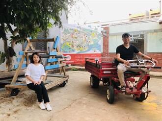 駐村變住村 林建叡藝農團隊9年改造大崎3間老屋7處景觀