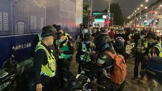 「大富翁」繞行鄭州路  360警包圍取締