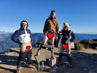 登山客攻頂拍露鳥照PO網引眾怒 網友:山神會生氣
