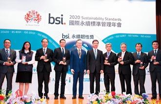 元大金ESG 獲永續韌性領航獎