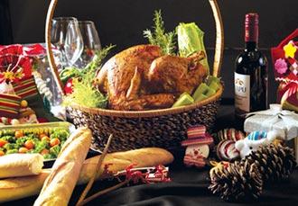 火雞、蜂蜜芥末火腿等兩款商品 圓山飯店推感恩節禮籃