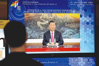 APEC視訊演說 習強調擴大開放