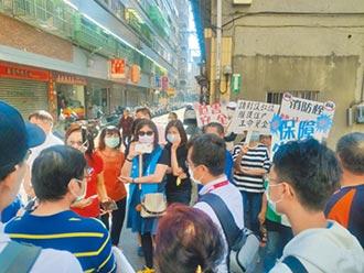 中華北街不畫紅線 恐影響救災