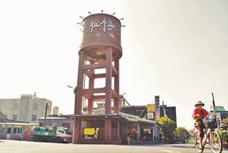 全台唯一紅瓦水塔 拼貼口湖新地標