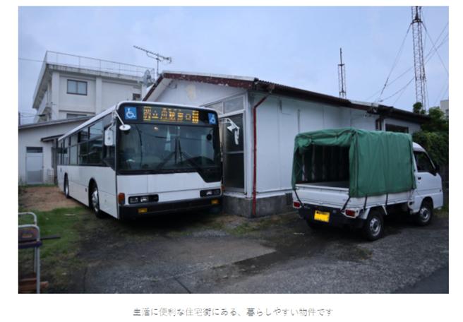 租屋還另外附公車,讓不少人非常驚訝(圖/翻攝自HACHIJO-HOUSE)