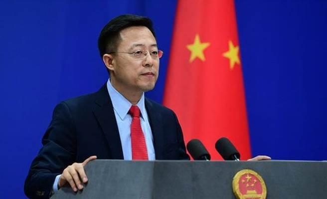 大陸外交部發言人趙立堅回應美環保署長訪台的問題時表示,中方堅決反對美台官方往來,中方將根據形勢發展「作出正當必要反應」。(圖/大陸外交部)