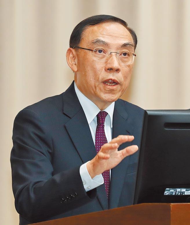 法務部長蔡清祥表示,緝毒單位遺失證物,法務部會深刻檢討。(劉宗龍攝)