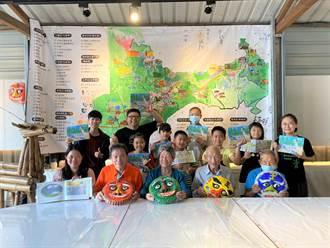 留下地方歷史 關廟6國小459位學生創作古地圖、繪本