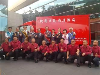 地方捐贈勘查車 充實消防救災能量