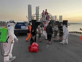 台中港外查獲陸船捕魚1000公斤 帶回6人偵辦