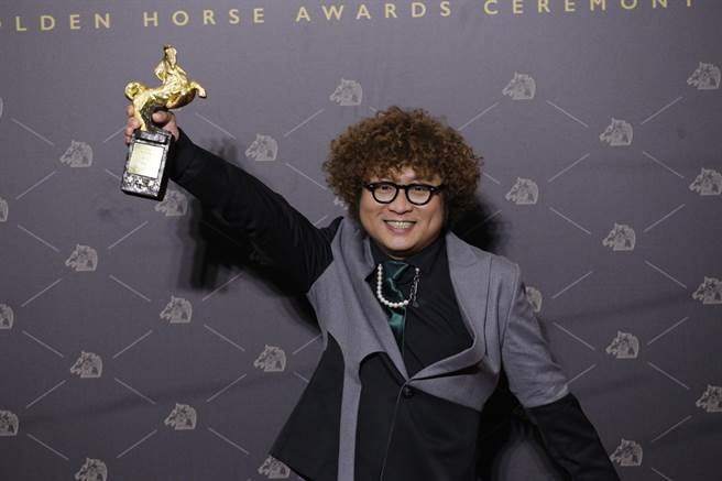 納豆二度入圍金馬,終於以《同學麥娜絲》拿下男配角獎。(記者廖映翔攝)