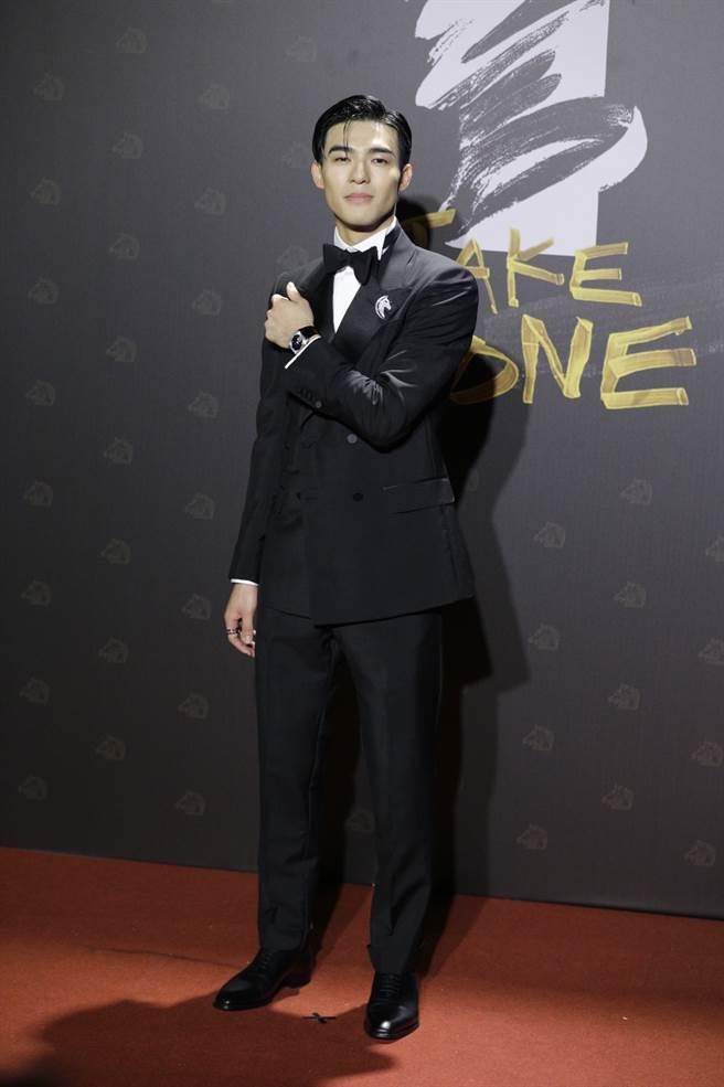 陳昊森無疑是紅毯俊秀小生代表。(廖映翔攝)