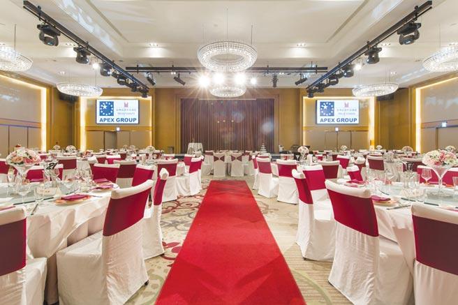 台中日月千禧酒店推出「尾牙春酒宴专案」,预付订金享早鸟优惠。图/台中日月千禧酒店提供