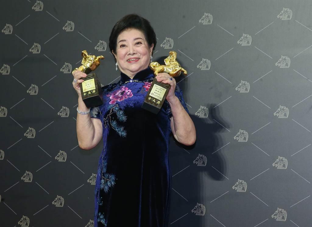 陳淑芳以《孤味》和《親愛的房客》一舉拿下金馬影后和女配角獎。(圖/本報系資料照片)