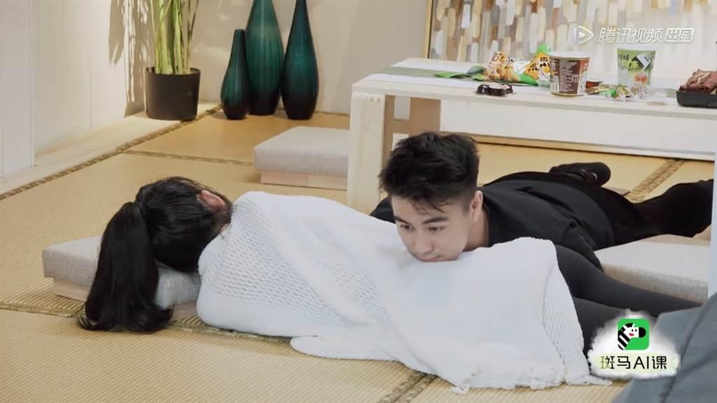 奚夢瑤說他們就像一般夫妻,也會吵架、拌嘴 (圖/ 翻攝自微博)