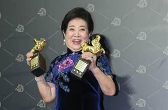 不只囊括影后女配 陳淑芳超狂上台5次 網佩服:金馬MVP