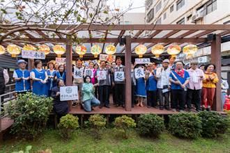中平路故事館6歲了!眾人點燈祝福 象徵客家文化薪火相傳