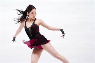 取代福原愛成最美運動員 19歲櫻花妹冰上「一字馬開腿洩裙底風光」